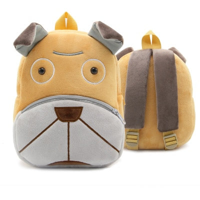 Kids 3D Animal Backpacks Baby Girls Boys Toddler Schoolbag Children Cartoon Lion Bee Bookbag Kindergarten Toys Gifts School Bags
