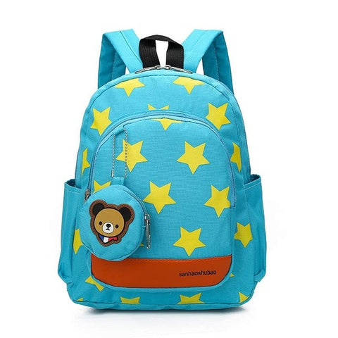 24x10x28cm Children Star Bag Kids Baby School Bag Children's Backpack Infantis Knapsack School Supplies Rucksack Boys Girls