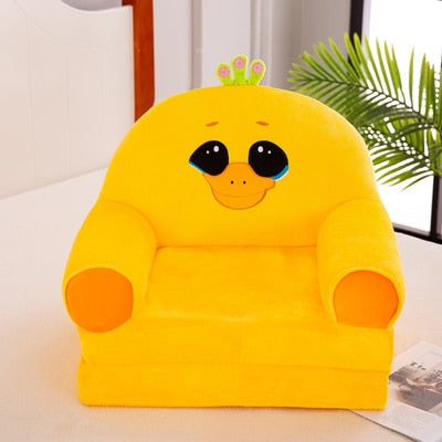 Cute Chair Fashion Children Sofa Folding Cartoon Stool for Children Kids Sofa Baby Stool Can Be Wash Washable Chair for Kids