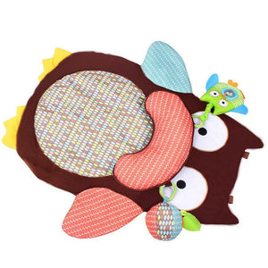 Cartoon Animal Baby Crawling Blanket Baby Game Pad Crawling Carpet Round Animal Floor Mat Crib Carpet Children's Baby Products