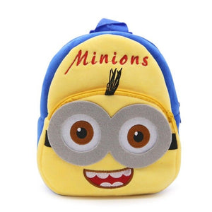 Soft Nap Super Mario Backpack Baby Toddle Kids Bag Baby Boy Girl Children Cute Cartoon Character Monster Kids Small School Bag
