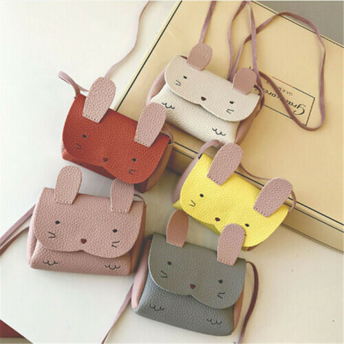 Baby Kids Girls PU Leather School bag Shoulder Bag Messenger Handbag Crossbody Satchel Bags