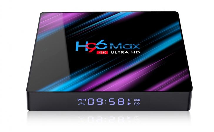 H96 MAX Android Box 2+16 with ISTAR IPTV