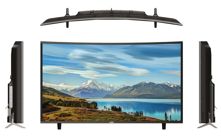 VISIO 65 LED TV CURVE SMART 4K Model CUA65VSS1