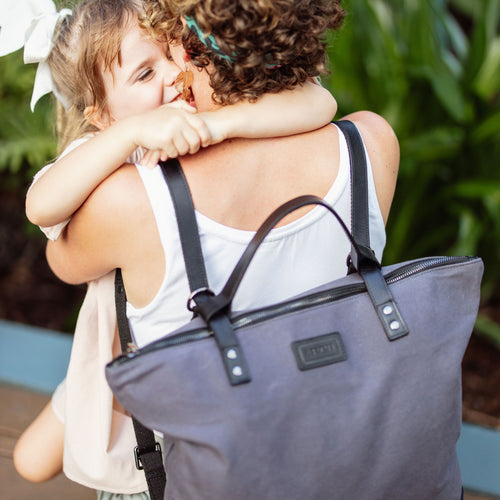 ARCH LUXE Diaper Bag - Grey