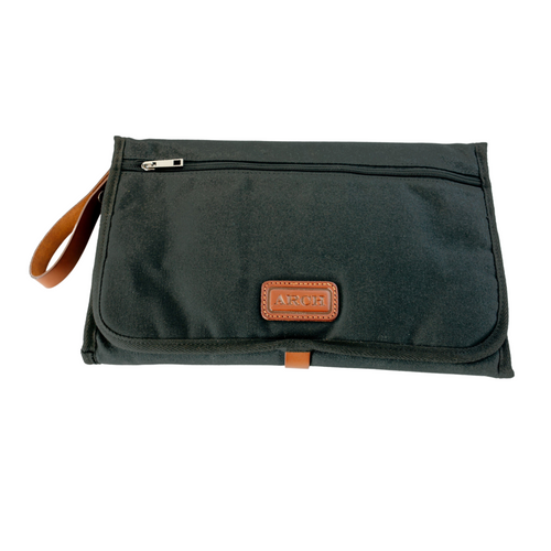ARCH Change Mat Clutch - Black / Tan