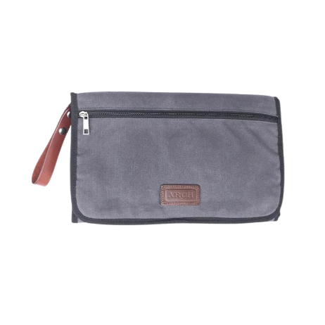 ARCH Change Mat Clutch - Grey / Tan