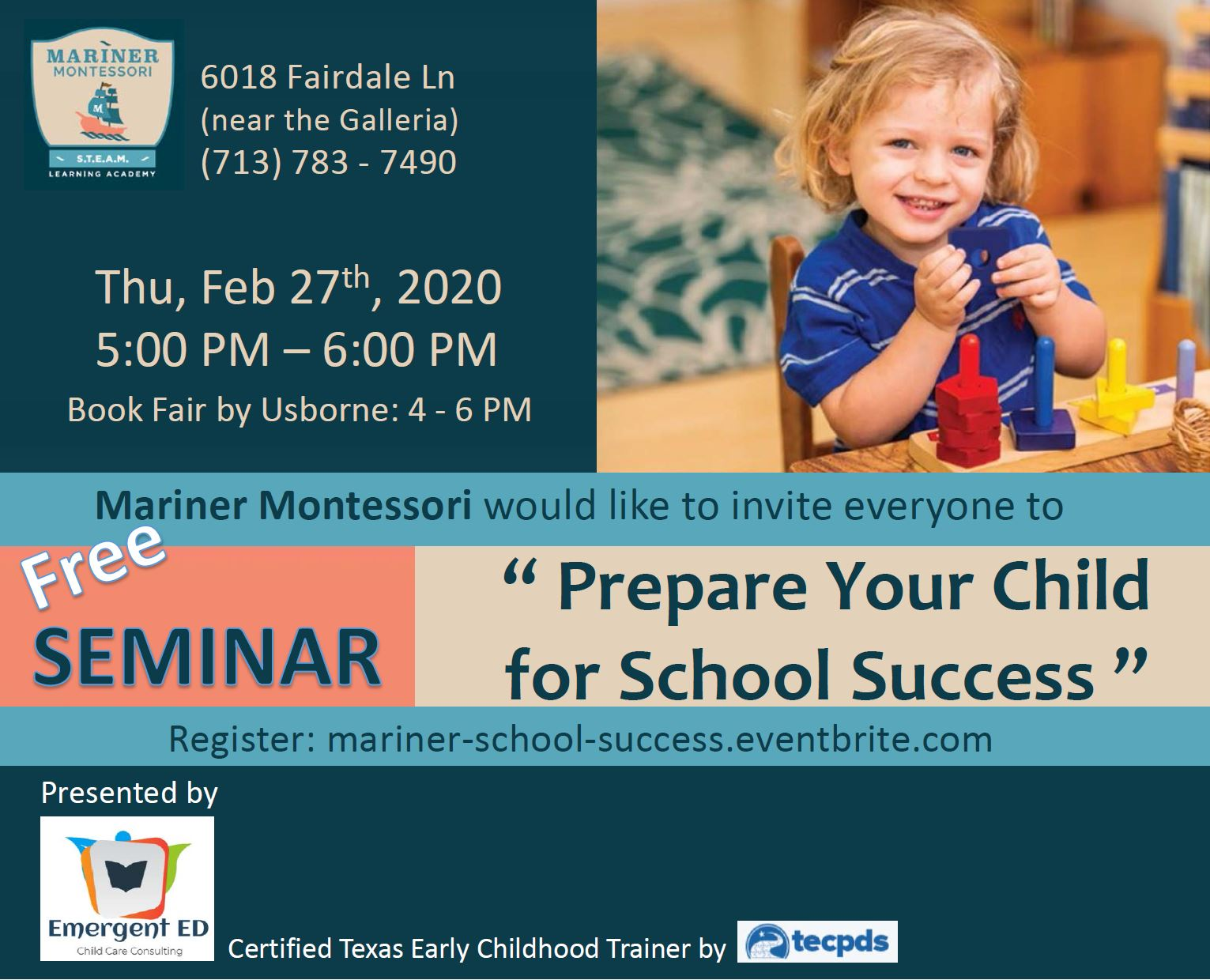 Free Houston Parenting Session