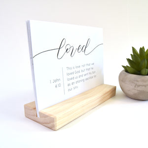 Bible verse affirmation cards - large