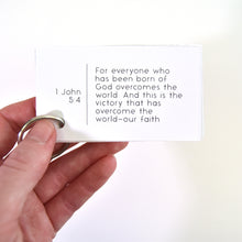 Load image into Gallery viewer, Bible verse affirmation cards - small