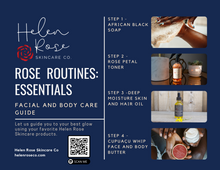 Load image into Gallery viewer, Rose Routines: Essentials Sample Size Kit - Helen Rose Skincare