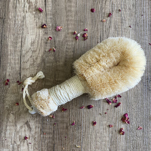 Sisal Bath Brush for Wet or Dry Massage - Helen Rose Skincare