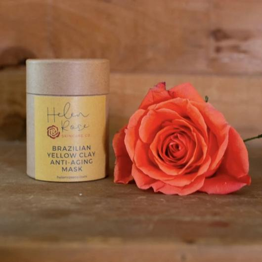 Brazilian Yellow Clay Anti-Aging Mask with Caffeine - Helen Rose Skincare