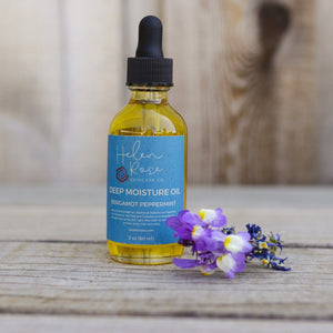 Deep Moisture Skin and Hair Oil - Bergamot Peppermint - Helen Rose Skincare