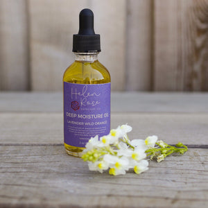 Deep Moisture Skin and Hair Oil - Lavender Wild Orange - Helen Rose Skincare