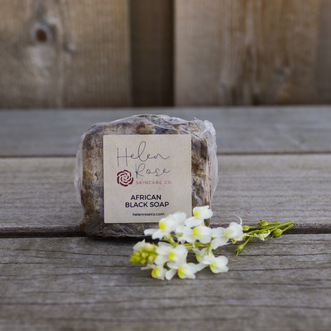 African Black Soap - Helen Rose Skincare