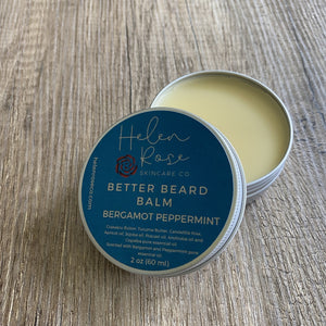 Better Beard Balm - Bergamot Peppermint - Helen Rose Skincare