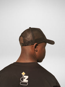 dZ™ TRUCKER HAT - CORE BLACK