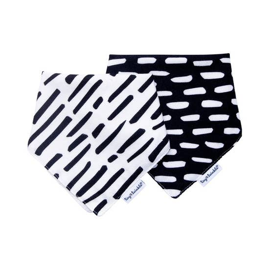 Bandana Bibs Black & White