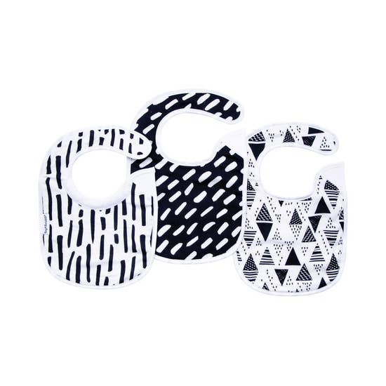 Bib Set Black & White