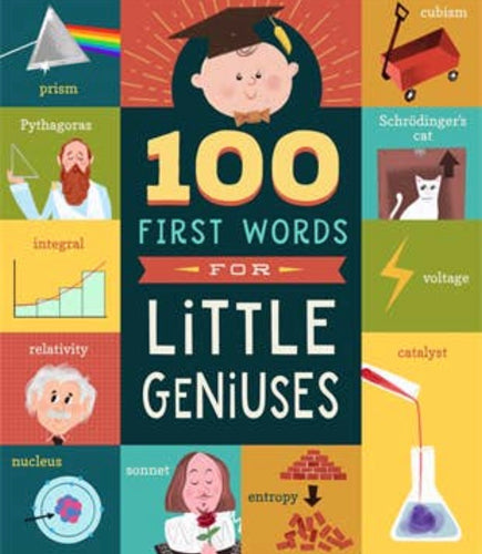 100 First Words Little Geniuses