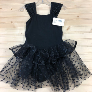 Black Tulle Leotard