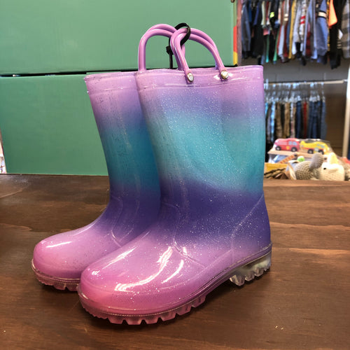 Light Up Ombre Rain Boots NEW!