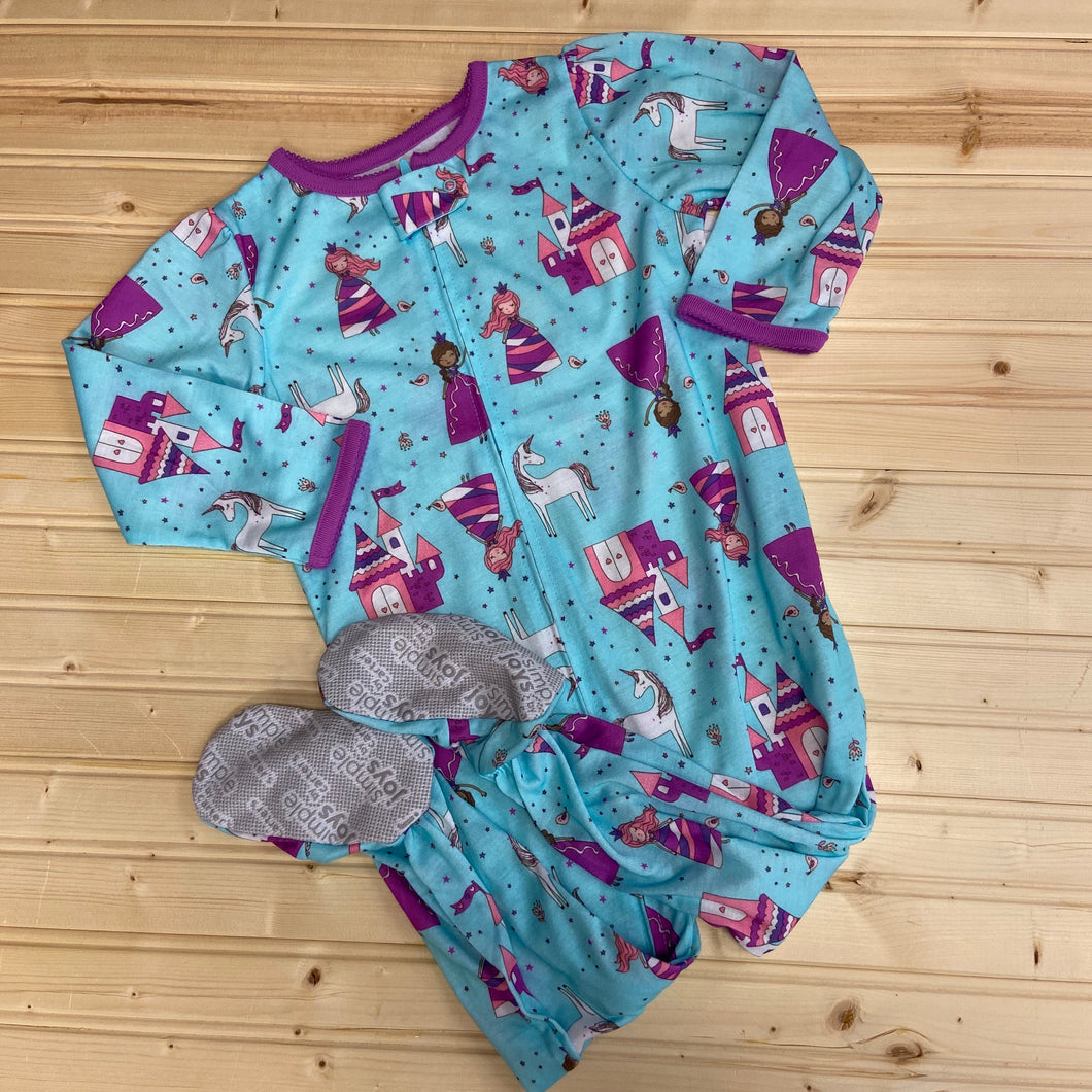 Turqoise Unicorn Jammies