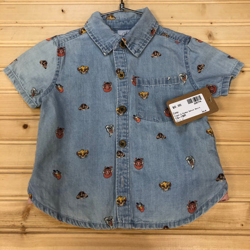 Timon & Pumba Denim Shirt