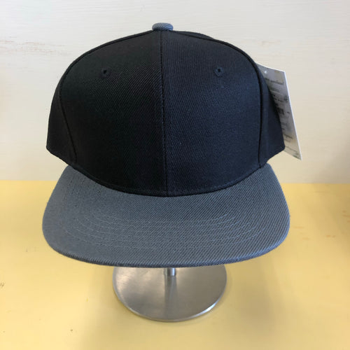Snapback -Two Tone Grey/ Black