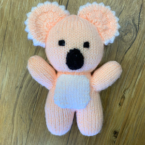 Knitted Koala Plush