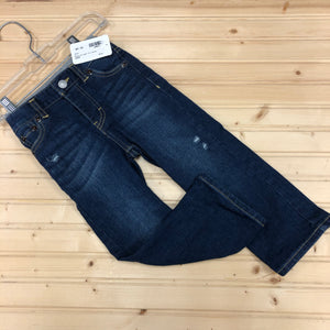 Blue Straight Fit Denim
