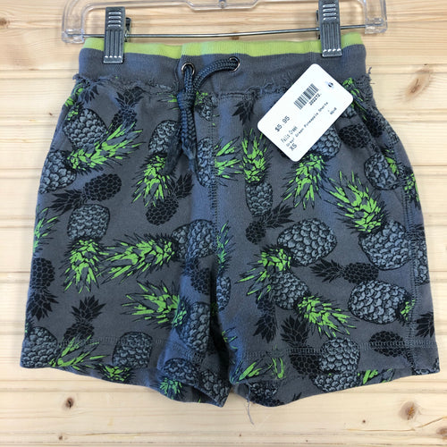 Grey/ Green Pineapple Shorts