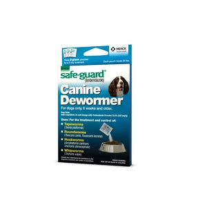 SAFE-GUARD CANINE DEWORMER FOR 20-LB DOGS, 2 GM 3-PACK