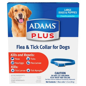 ADAMS FLEA & TICK CONTROL COLLAR FOR LARGE DOGS