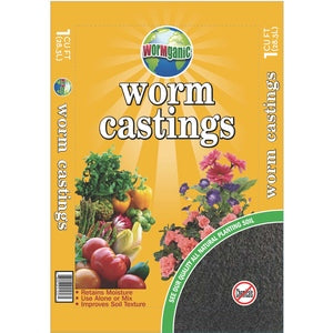 1 CU FT WORM CASTINGS