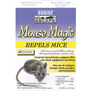 4 pk MOUSE MAGIC REPELLANT