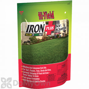 HI-YIELD IRON PLUS SOIL ACIDIFIER 4 LB