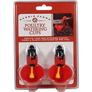 2 PK OF POULTRY DRINKER CUPS