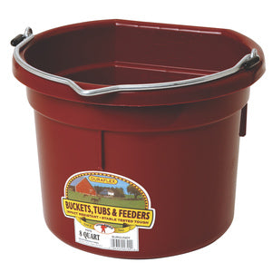 8 QT FLAT BACK BUCKET