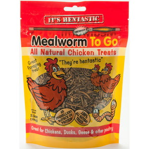 3.5 OZ HENTASTIC MEALWORMS
