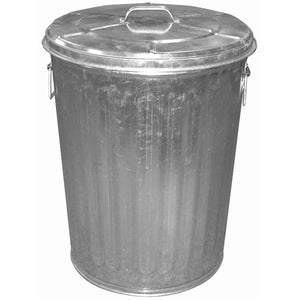 20 gal. GALVANIZED TRASH CAN