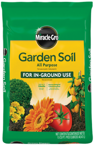 MIRACLE GROW GARDEN SOIL 2 CU FT
