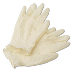bx. 100 LATEX POWDER FREE GLOVES