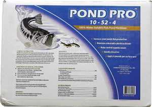 25 LB WATER SOLUABLE 10-52-4