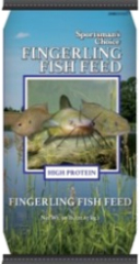 40LB 36% SPORTSMAN FINGERLING FOOD