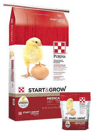 50 lb. PURINA START & GROW
