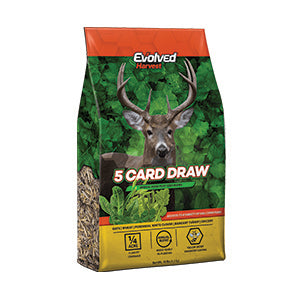 10LB EVOLVED HARVEST 5 CARD DRAW SEED MIX