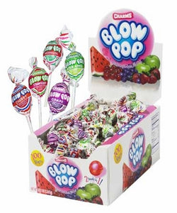 bx. 100/ASSORTED BLOW POPS