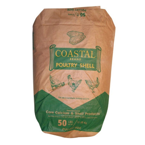 OYSTER SHELLS 50 lbs